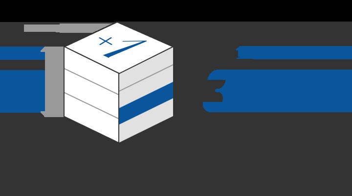 TEN-FOUR CUBE工法4階建て